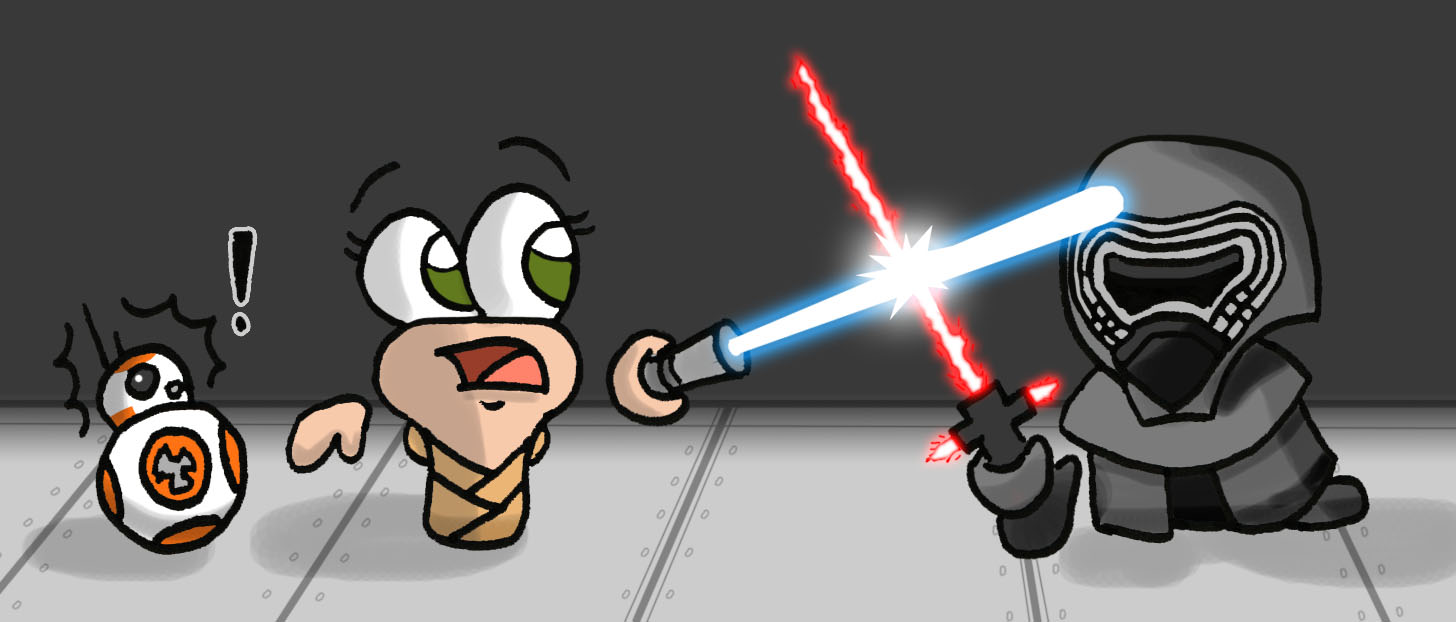 Rey+Kylo
